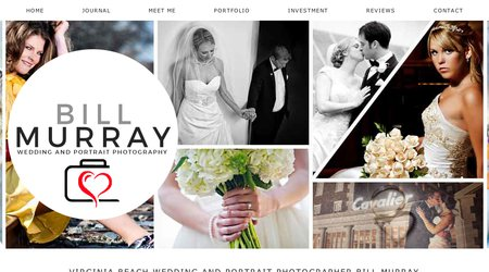 Bill Murray Wedding & Portrait Photography