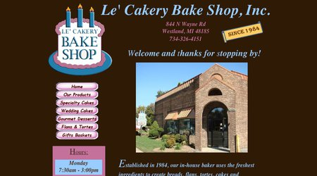 Le Cakery Bake Shop