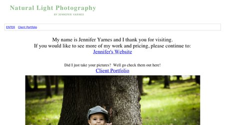 Jennifer Yarnes Natural Light Photography
