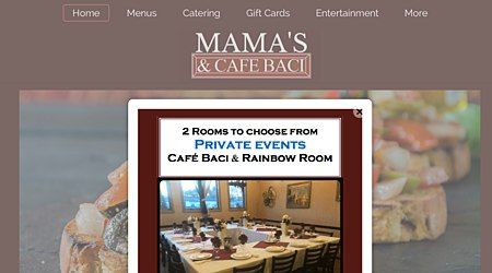 Mamas Pizza Cafe Baci Catering