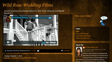 Wild Rose Wedding Films