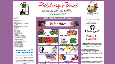 Pillsbury Florist West
