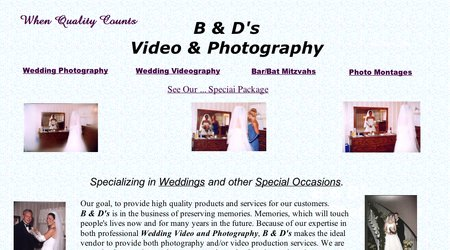 B & D's Video & Photography