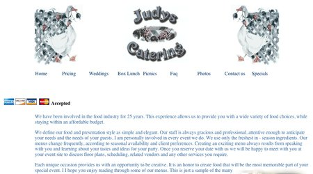Judy's Catering