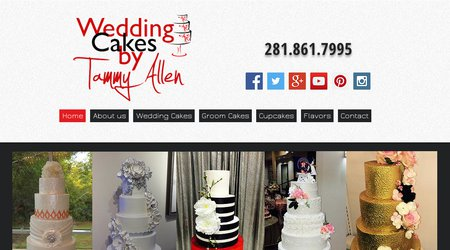 Tammy Allen Premier Wedding Cake