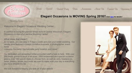 Elegant Occasions Wedding Center