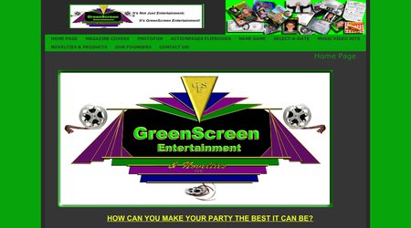 GreenScreen Entertainment Services