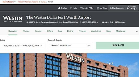 Westin Dallas Fort Worth Airport Hotel