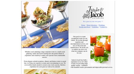 Jamie & Jacob Catering