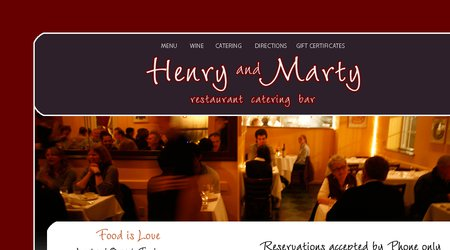 Henry & Marty Restaurant Catering