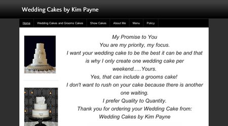 Wedding Cakes by Kim Payne