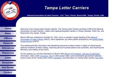 Tampa Letter Carriers Hall