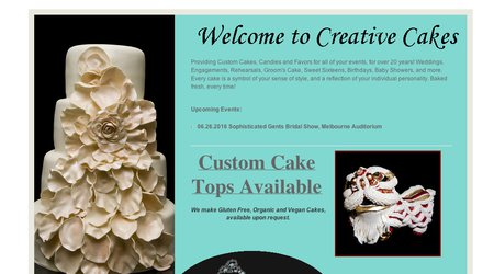Creative Cakes & Candies