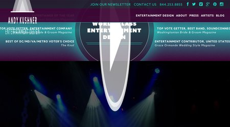 Andy Kushner Entertainment Design