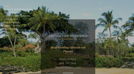 Distinctive Weddings Maui
