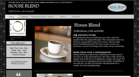 House Blend Coffeehouse & Cafe