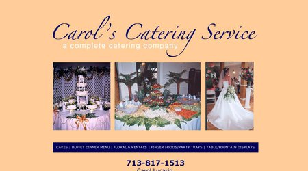 Carol's Catering Service