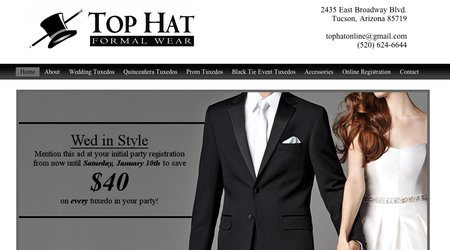 Top Hat Formal Wear