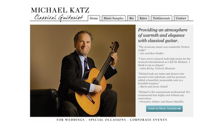 Michael Katz - Classical Guitarist