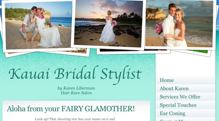 Kauai Bridal Stylist by Hair Kare Salon