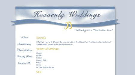 Heavenly Weddings In RI
