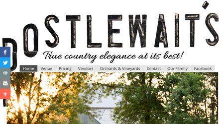 Postlewait's Country Weddings