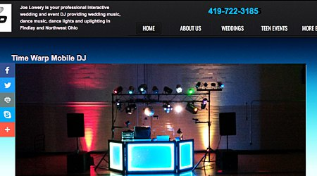 Time Warp Mobile DJ Service