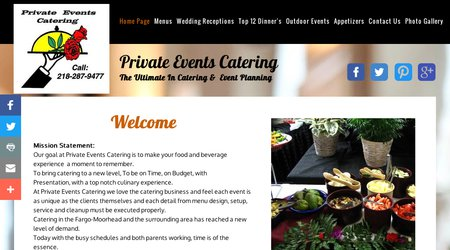 Private Events Catering