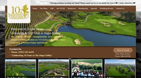 Eagle Vines Vineyards & Golf Club