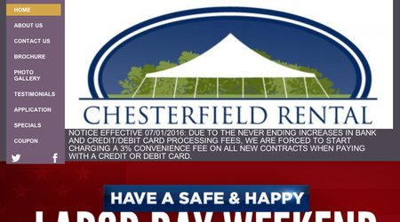 Chesterfield Rental