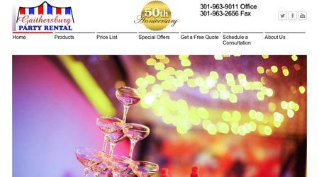Gaithersburg Party Rental