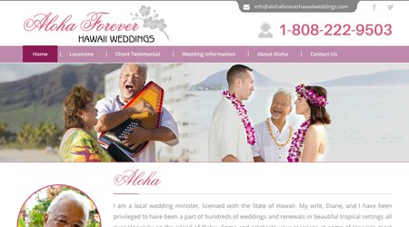 Aloha Forever Hawaii Weddings