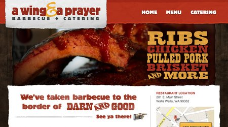 A Wing & A Prayer Barbecue & Catering
