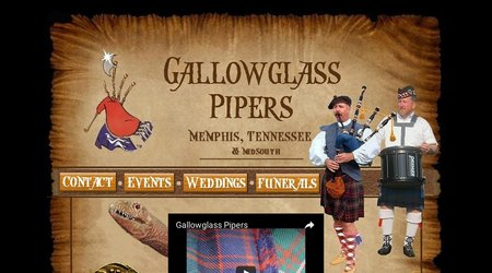 Gallowglass Pipers