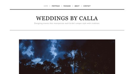 Weddings by Calla