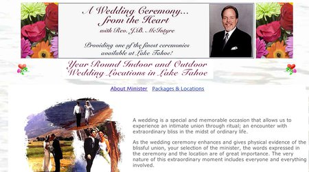 A Wedding Ceremony from the Heart