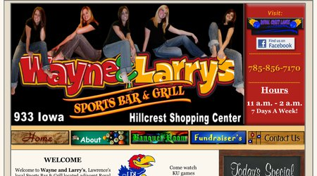 Wayne & Larry's Sports Bar & Grill