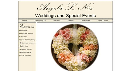 Angela L. Nix Weddings & Special Events