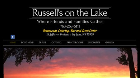 Russell's on the Lake Catering