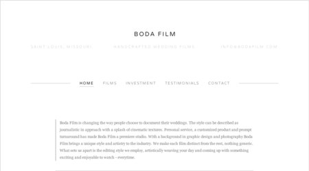 Boda Film Videography