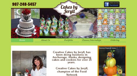 Creative Cakes by Jeryll
