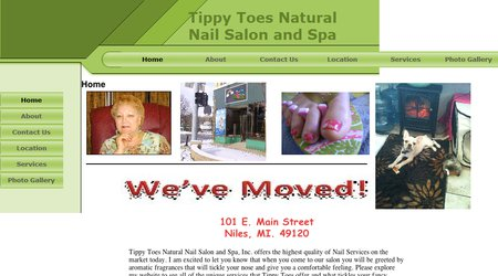Tippy Toes Natual Nail Salon and Spa