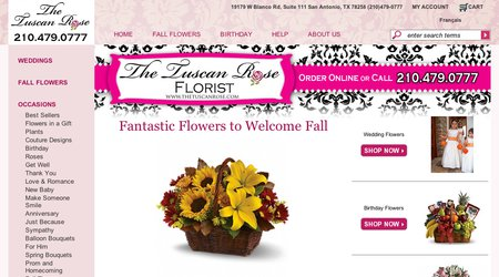 The Tuscan Rose Florist
