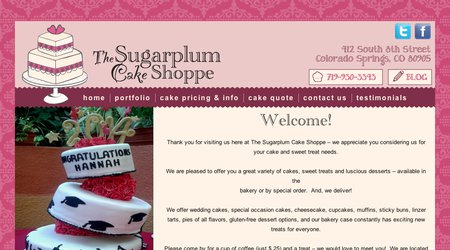 Sugar Plum Cake Shoppe