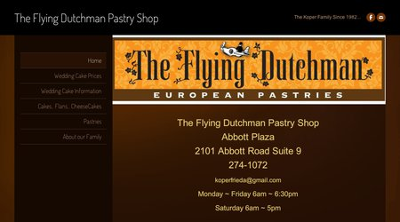 The Flying Dutchman Pastry Shop