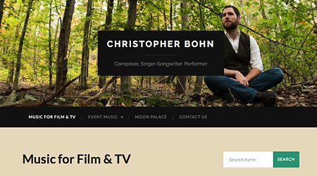 Christopher Bohn Music