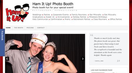 Ham It Up Photo Booth