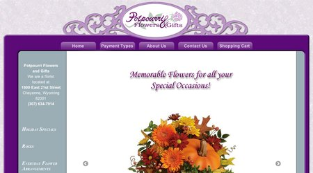 Potpourri Flowers and Gifts