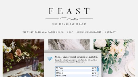 Feast Fine Art & Calligraphy