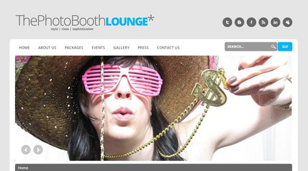 Photo Booth Lounge